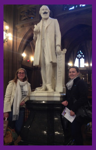 Annie Shippen and I With John Ryland