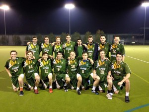 Nottingham Men's 1'st Lacrosse Team