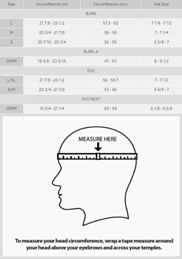 Lacrosse Helmet Size Chart : lacrosse, helmet, chart, Warrior, Lacrosse, Helmet, Customizable, Unlimited