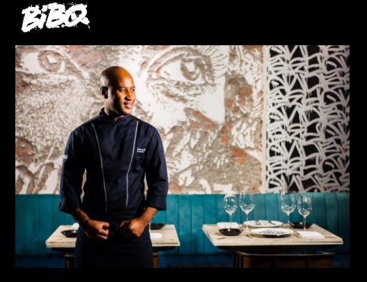 photo courtesy of Bibo.hk. Bibo Executive Chef Mutaro Balde