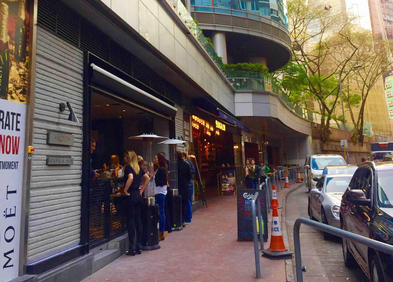 Wyndham Street_bars and restaurants
