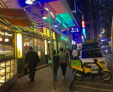 Jaffe Road is a 24-hour's foodie street in Causeway Bay