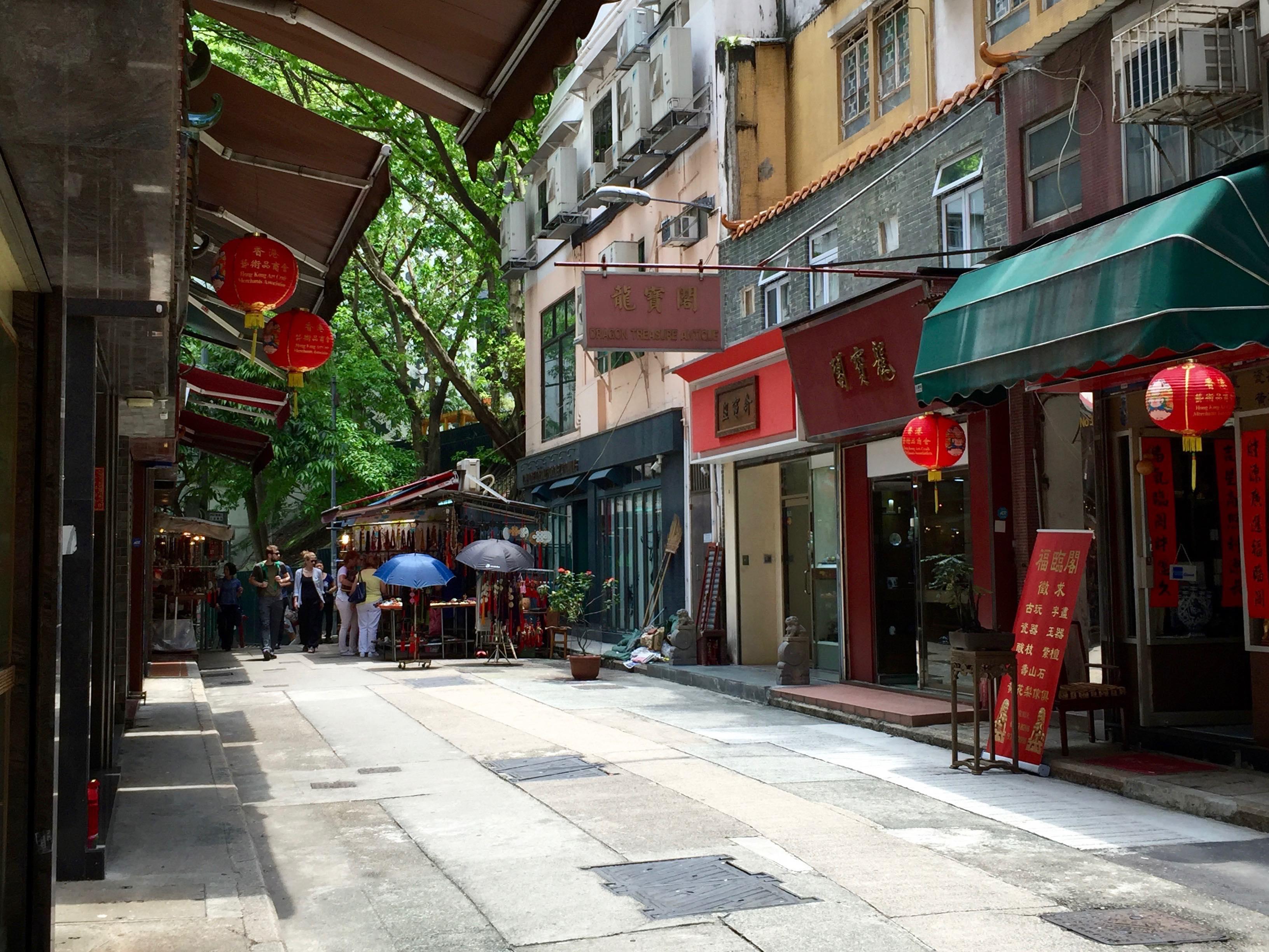 Hollywood Road Heritage - attraction to stylish restaurants bars Hong Kong