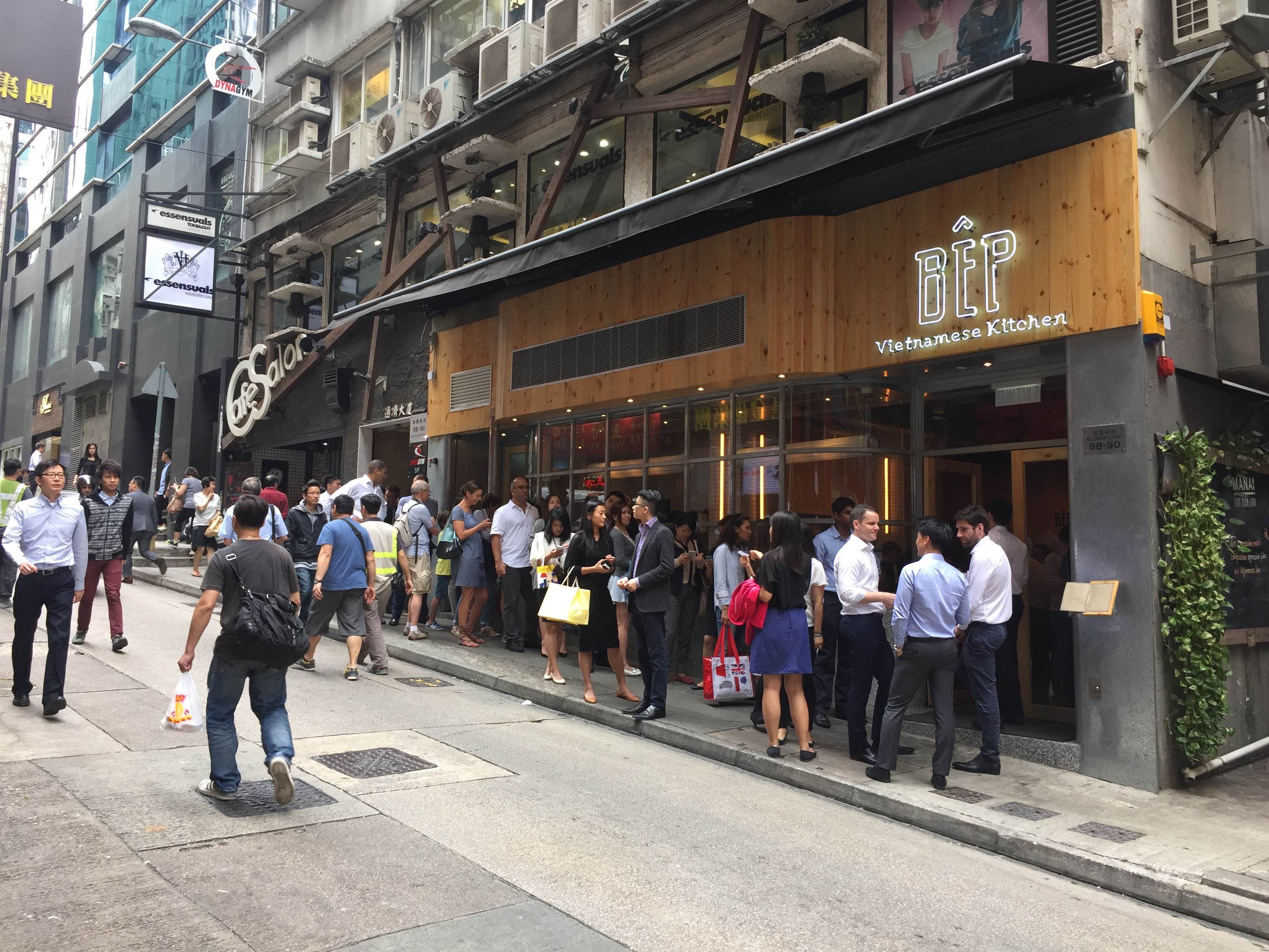 Restaurants on Wellington Street packed with foodie traffic