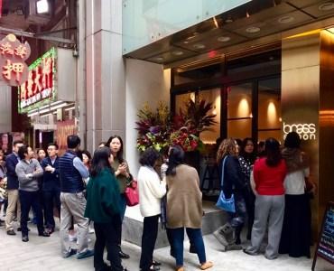 Hong Kong Central Pottinger Street guaranteed lunch traffic for restaurants cafes takeaway shops