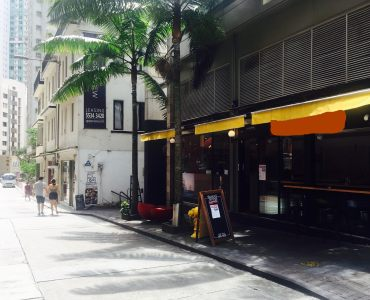 Sheung Wan wide-frontage FnB shop with fitting licence for lease