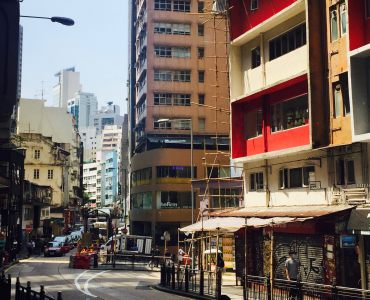 Central Hollywood Road - Old HK street character remains