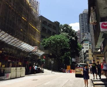 Hong Kong Queen's Road West restaurants cafes close by MTR