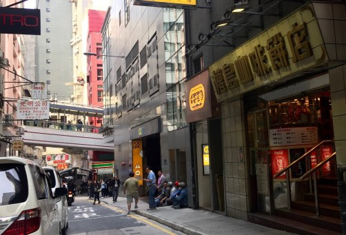 Tsui Wah Restaurant took up the shop formerly by Honolulu Coffee Shop on Stanley Street in Central HK