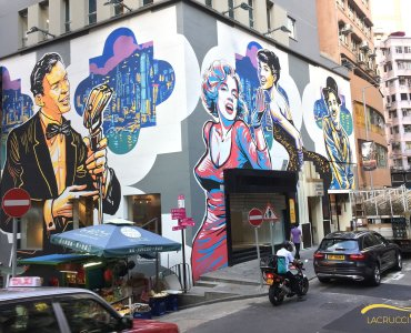 Hong Kong Central Hollywood Road FnB Shop for Lease