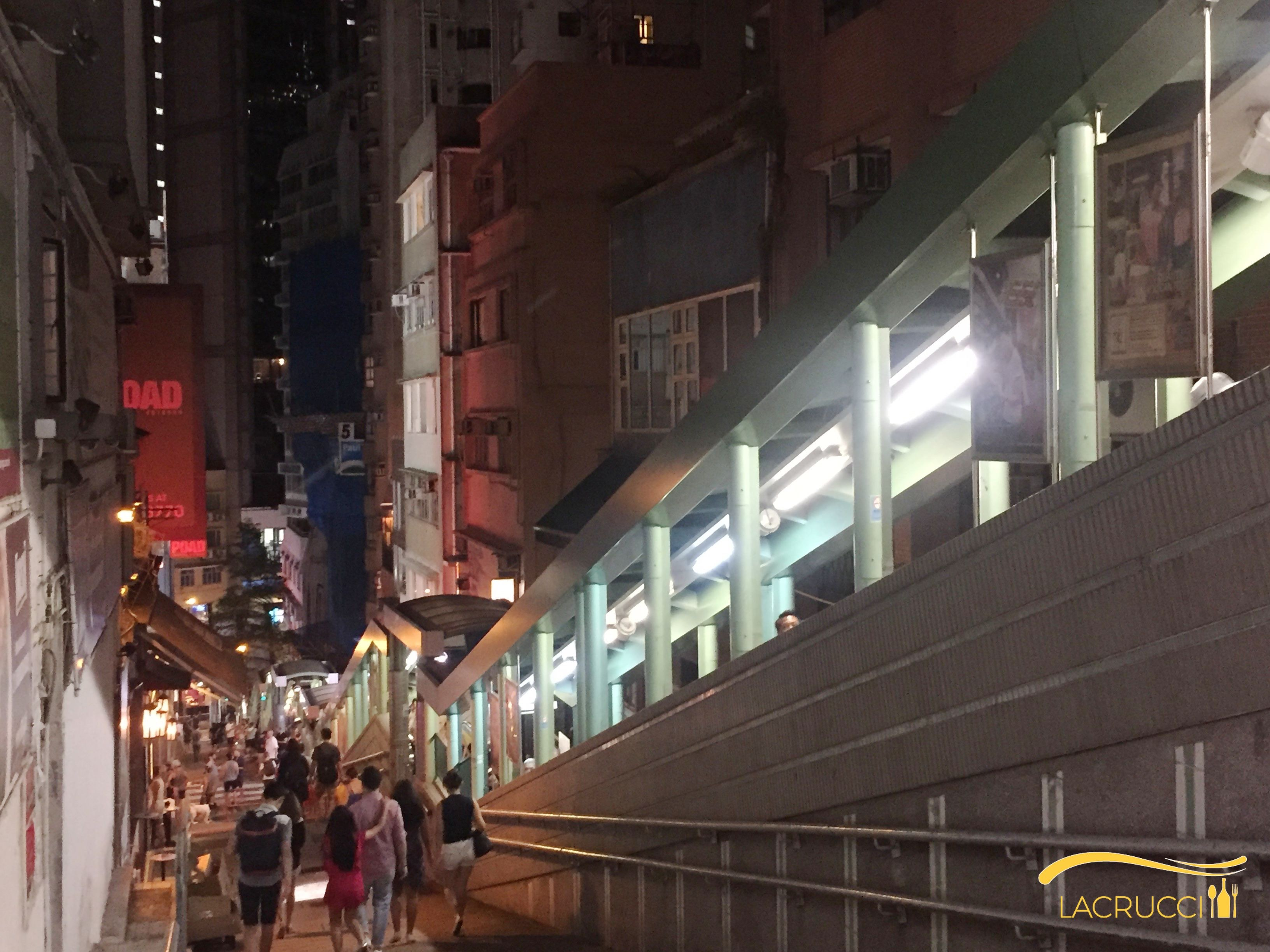 Hong Kong Central Soho restaurants bars guaranteed customers day and night