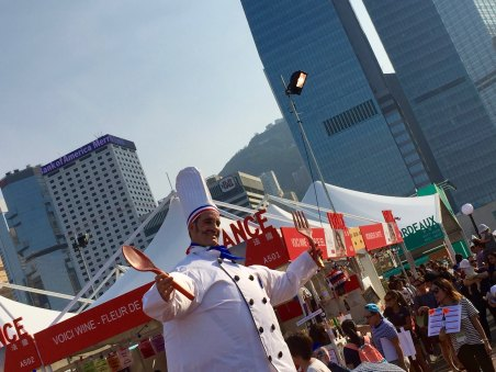 Super-chef in Hong Kong Wine & Dine Festival 2017