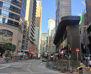 HK Central Wellington Street junction with Queen's Road Central