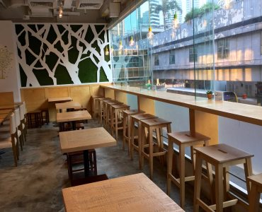 HK Admiralty atop MTR Restaurant for Sale with Licence