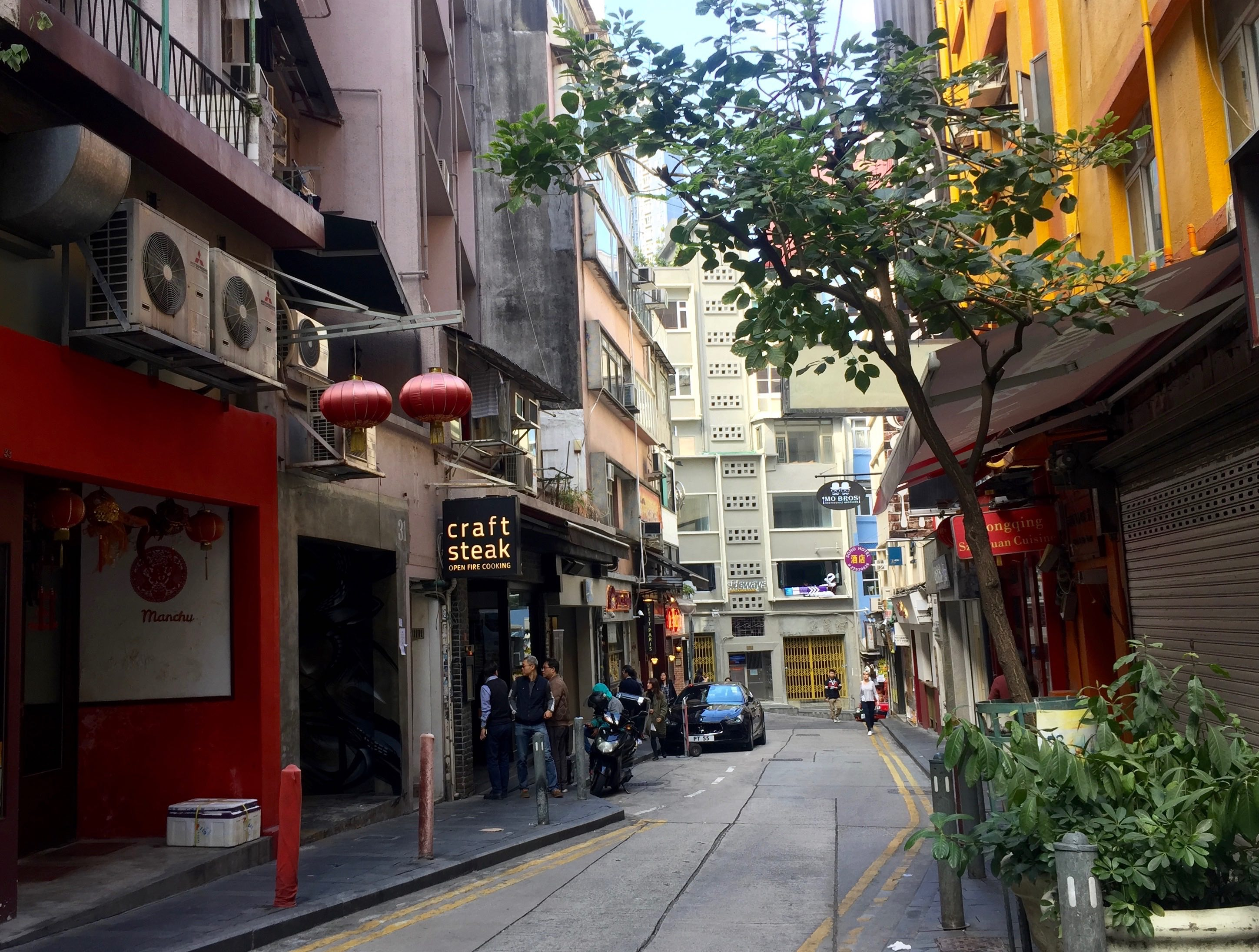 HK Soho Central FB shop for lease