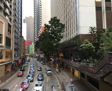 Hong Kong Wan Chai exclusive entrance top floor with huge roof bar club restaurant space for lease