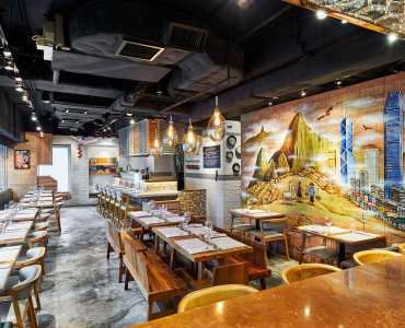 Hong Kong Wan Chai upstairs restaurant for sale with licence