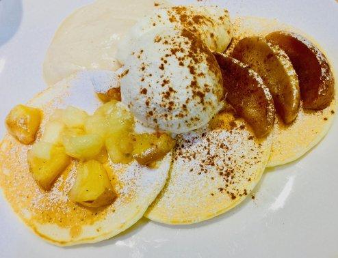 What makes Hong Kong the First Japanese Pancake Store Overseas?