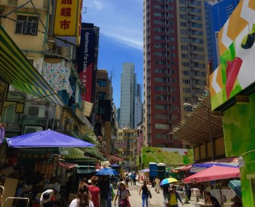 Hong Kong Central F&B shop for Lease residential office catchment