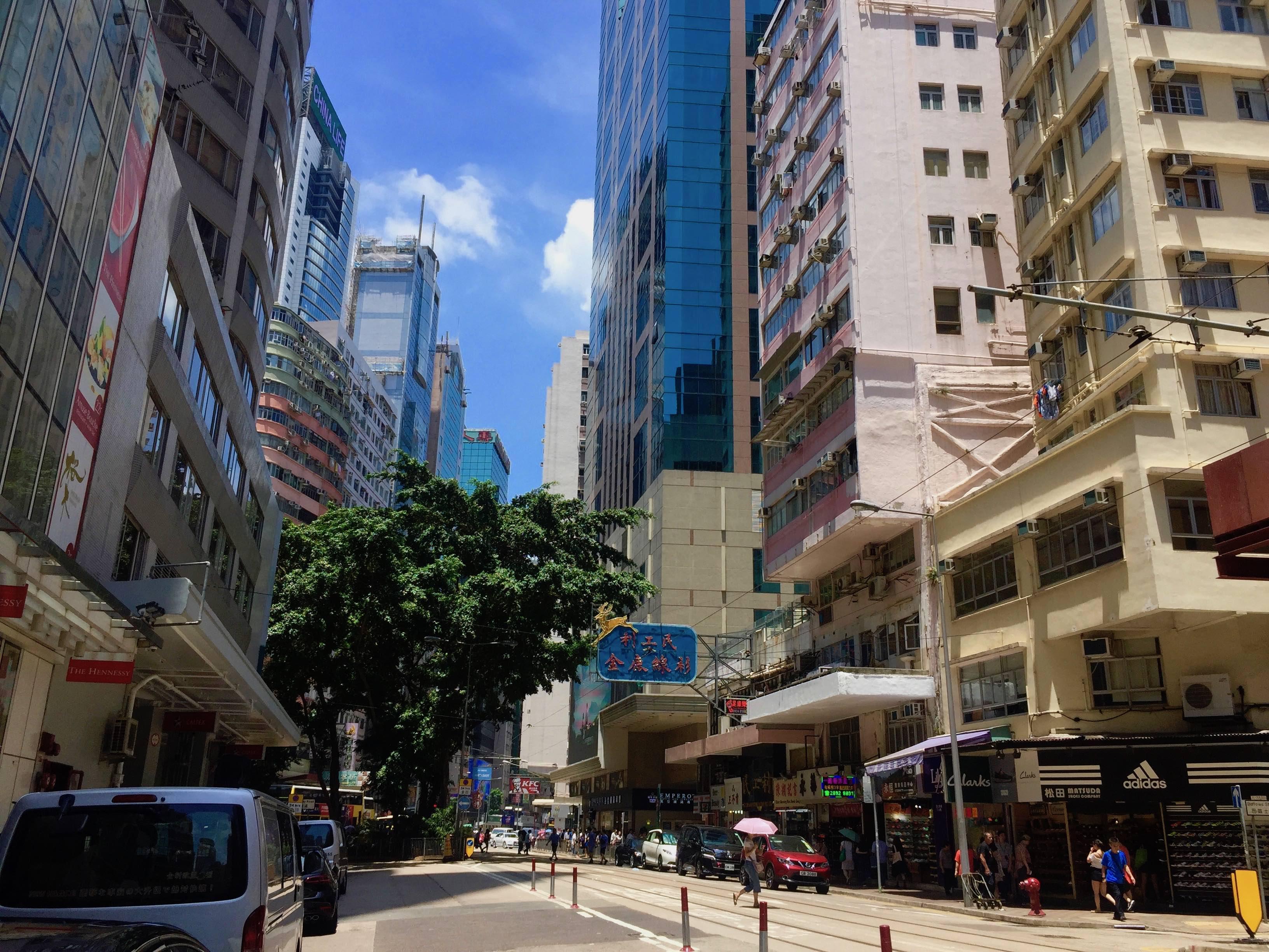 Hong Kong Wanchai Wide-shopfront F&B Shop for Lease