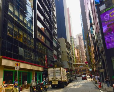 Hong Kong Central Lyndhurst Terrace FB space for lease