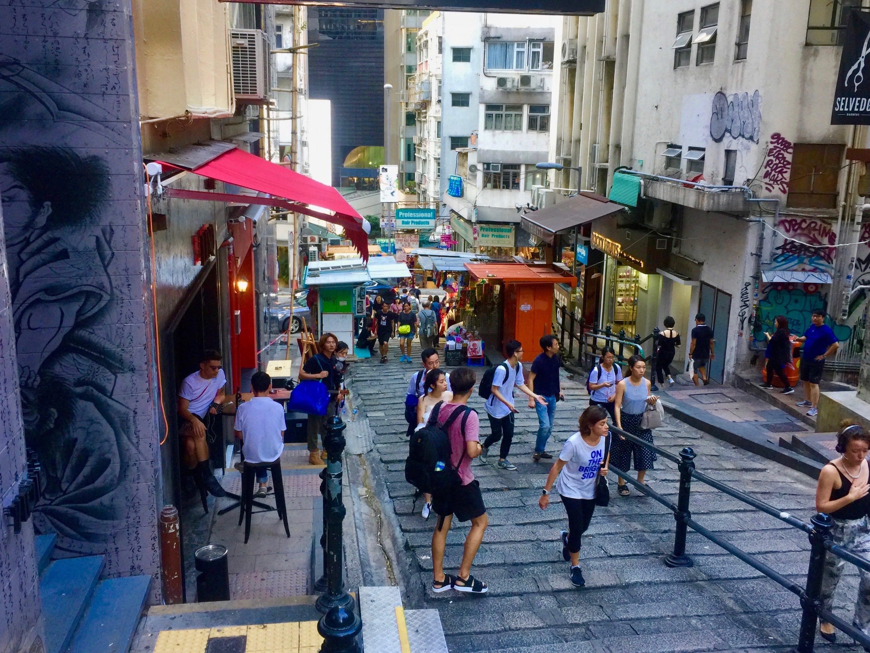 Pottinger Street, Central Hong Kong - FB shop fop rent