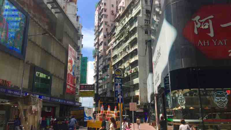 Causeway Bay Cannon Street F&B Shop to Let in Hong Kong