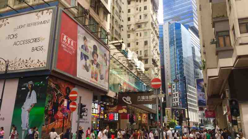 Busy traffic FnB Shop for Rent in Causeway Bay Hong Kong