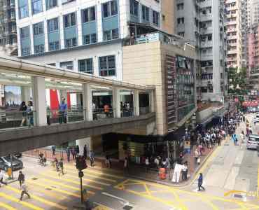 FB Shop for lease in Wan Chai Hong Kong - guaranteed fooide traffic