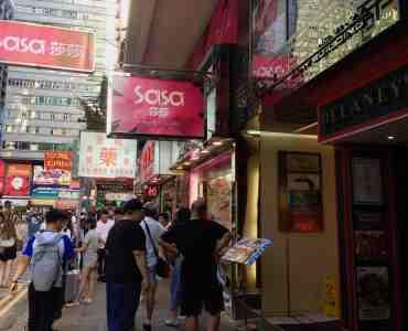 For Lease - Tsim Sha Tsui - High-traffic Food & Beverage Shop in HK