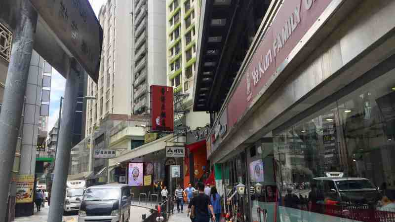 HK Tsim Sha Tsui Double Shopfront Food and Beverage Shop for Lease Kowloon