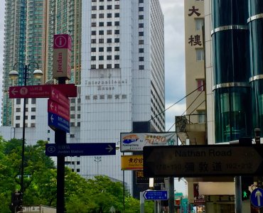 FB space to let - trendy foodie street in TSim Sha Tsui, Hong Kong