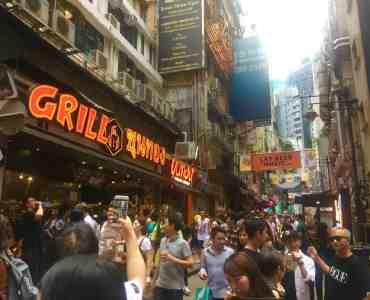 Hong Kong Central FnB Shop for Lease closeby Lan Kwan Fong