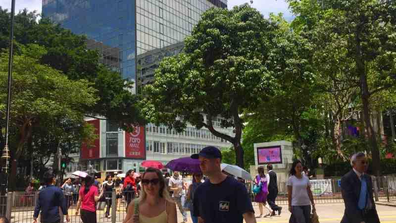 Hong Kong Tsim Sha Tsui F&B Shop for Rent with Office Tourist Crowds