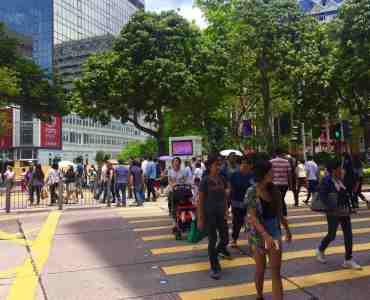 Hong Kong Tsim Sha Tsui High Traffic Restaurant Shop to Let with office tourist crowds