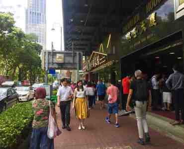 Hong Kong Tsim Sha Tsui High Traffic Restaurant Space for Lease