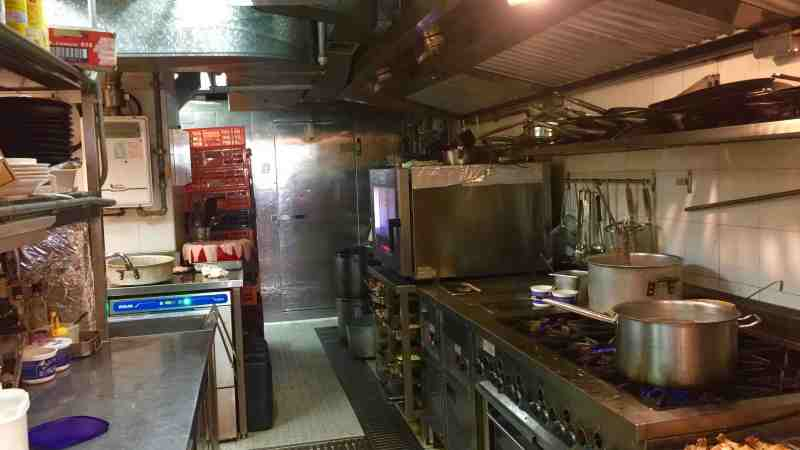 Multifunctional Restaurant for Sale with cafe gourmet store central kitchen event space in Wan Chai HK