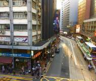 High traffic F&B shop for lease - Des Voeux Rd Central Hong Kong