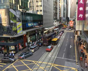Restaurant space for rent - Des Voeux Rd Central Hong Kong