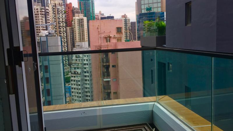 Pottinger Street FB shop with balcony for lease, Central Hong Kong