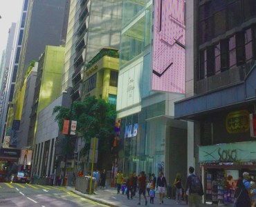 Queen's Road Central Street - F&B shop for lease Central Hong Kong