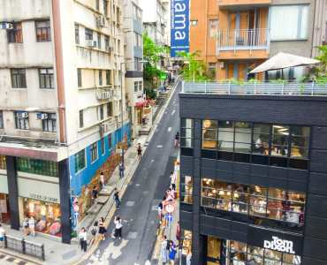 Hollywood Road Prime F&B Shop for Lease in HK Central