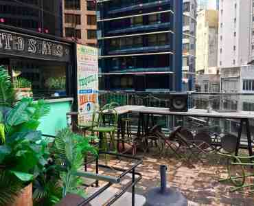 Fitted Bar & Restaurant with Outdoor Seating for Lease in Central Hong Kong