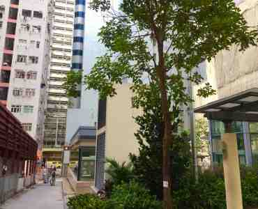 HK Sai Ying Pun Food & Beverage Shop for Rent with Terrace Next to MTR Station