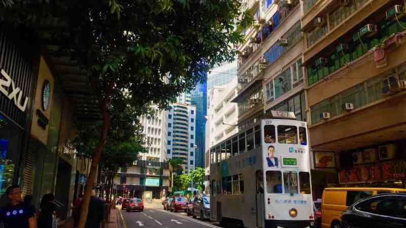 Hong Kong Causeway Bay High-ceiling Restaurant Cafe Bar Space for Rent