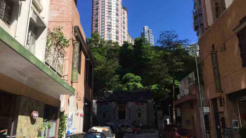 Hong Kong Tai Hang Wide-shopfront Cafe Restaurant Coffee Shop Wine Bar for Rent