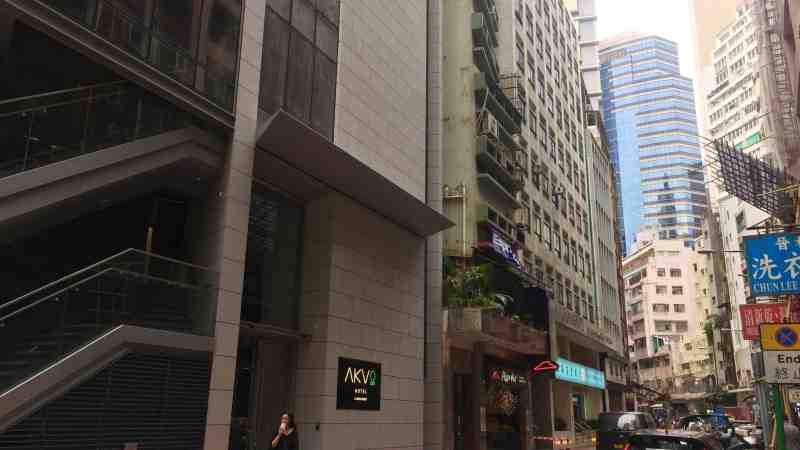 Restaurant Space with Licence for Rent in Commercial District in Sheung Wan Hong Kong