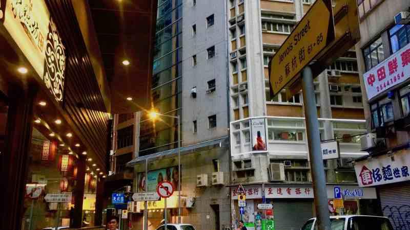 Sheung Wan Jervois Street Fitted Food & Beverage Shop for Rent HK