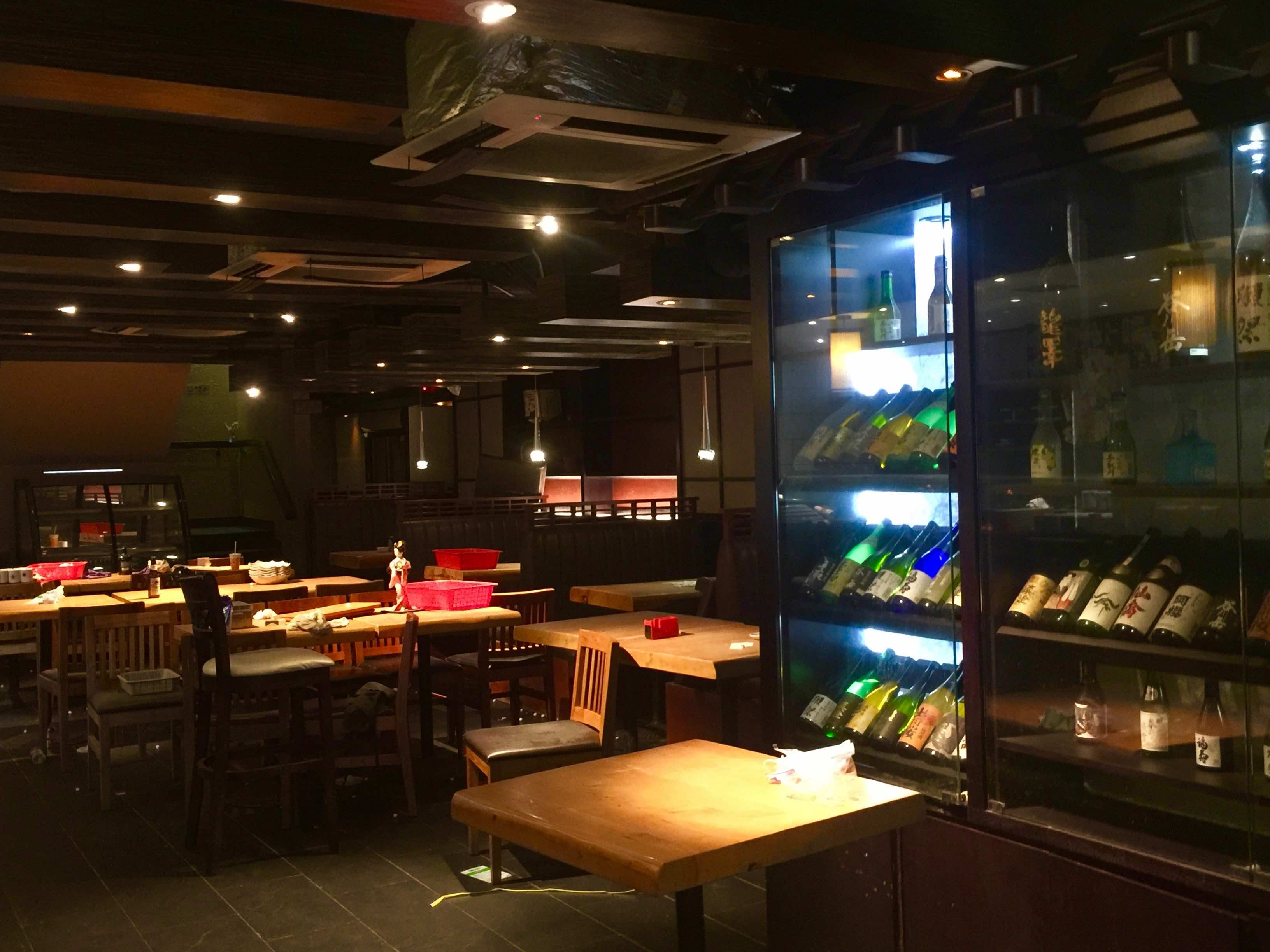 Sheung Wan office district fitted Japanese restaurant for rent HK