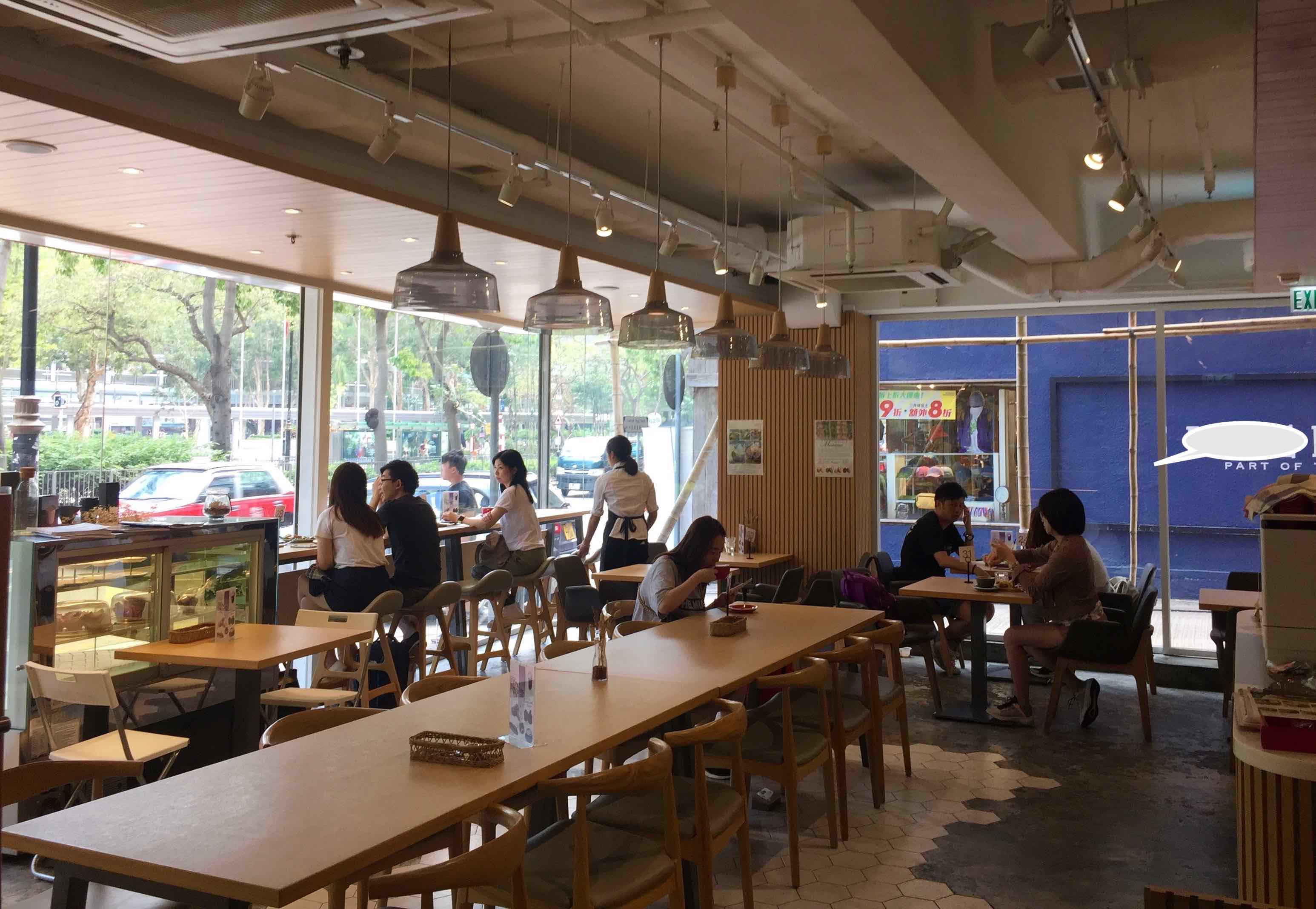 Tsim Sha Tsim Bright Cafe Space for Rent HK